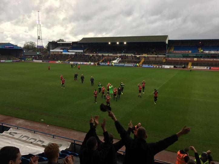 Carlisle v morecambe , second game (2)