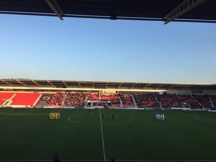 Doncaster v AFC wimbledon(7)