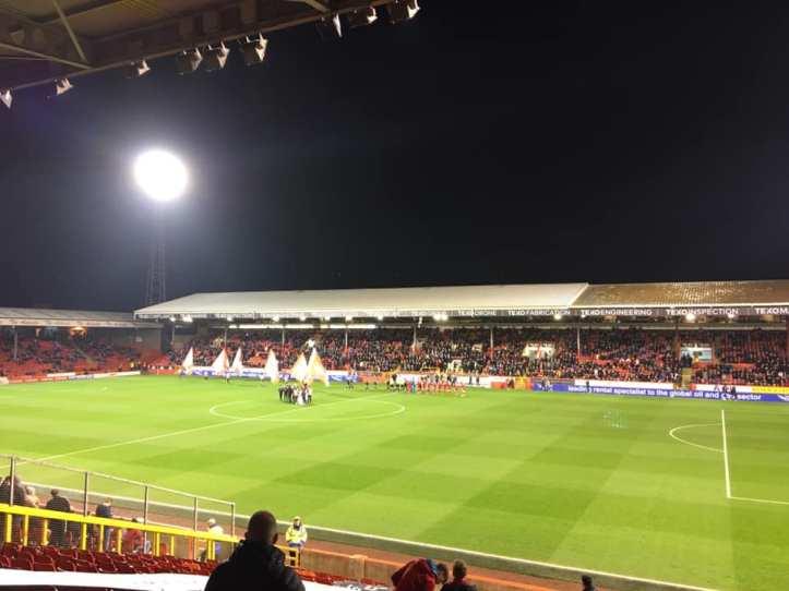 Aberdeen away 2-0 victory (1)