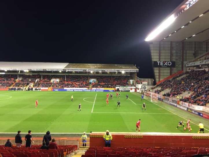 Aberdeen away 2-0 victory (2)