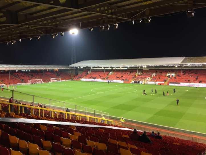 Aberdeen away 2-0 victory